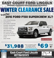 2016 Ford F-150 in Toronto