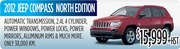 Jeep Compass North Edition for Sale in Toronto