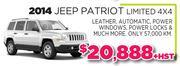 2014 Jeep Patriot Toronto