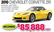 2010 Chevrolet Corvette ZR1 in Toronto