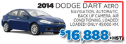 Used Dodge Dart Aero for Sale in Toronto