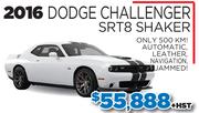 2016 Dodge Challanger SRT Shaker
