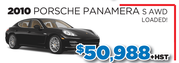 2010 Porsche Panamera S AWD in Toronto