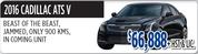 2016 Cadillac ATS V Toronto